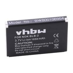 vhbw Li-Ion Akku 1050mAh (3.7V) für GPS Receiver, Tracker Holux GPS-Receiver GR-230, GR-231 wie BLB-2.