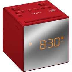 Sony Radio Uhrenradio ICF-C1TB rot