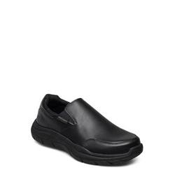 Skechers Mens Expected 2.0 Loafers Flache Schuhe Schwarz SKECHERS Schwarz 44