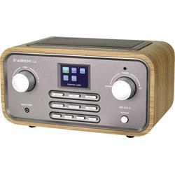 Albrecht DR 316 C Internet Tischradio DAB+, UKW AUX, WLAN, Internetradio Holz