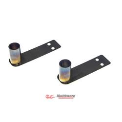 Absima Stahl Auspuff-Atrappe mit LEDs (2 St.) / 2320060