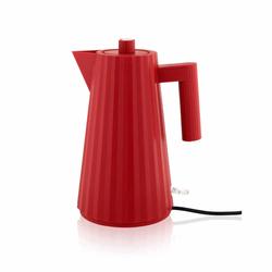 Alessi Elektrischer Wasserkocher Plissé rot