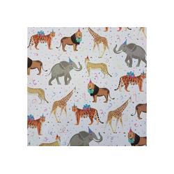 STAR Geschenkpapier, Geschenkpapier Tiere Afrika / Party 70cm x 2m, Rolle