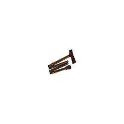 REISESTOCK Lei bronze zusammenfaltbar 1 St