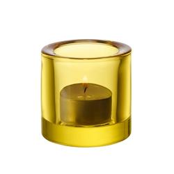 Iittala Kivi Teelichtglas 60mm Zitronengelb Geschenkbox
