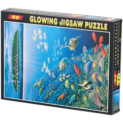 "500-teiliges Glow-in-the-dark-Puzzle ""Unterwasserwelt"""
