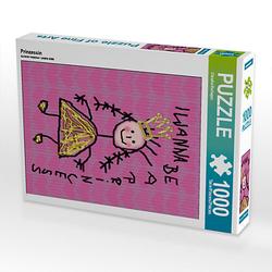 Prinzessin Lege-Größe 48 x 64 cm Foto-Puzzle Bild von Digital-Art Puzzle