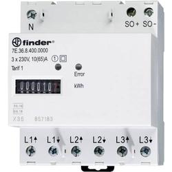 Finder 7E.36.8.400.0010 Drehstromzähler mechanisch 65A MID-konform: Ja 1St.