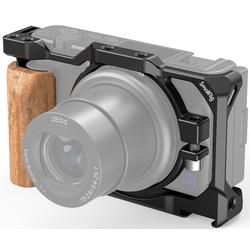 SMALLRIG 2937 Cage mit Holzhandgriff für Sony ZV-1