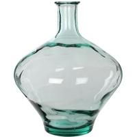 MICA Decorations Kyara Vase, Glas, transparent, H. 46 cm D. 38 cm