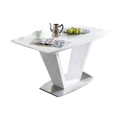 MCA furniture Esstisch Ilko in weiß