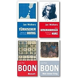 Boon-Wolkers-Paket  4 Bde.. Jan Wolkers  Louis P. Boon  - Buch