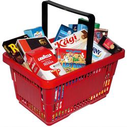 Chr. Tanner Spiel-Einkaufswagen Einkaufskorb, gefüllt