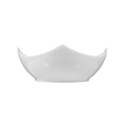 Savoy Schale eckig 14 cm weiß