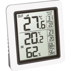 TFA Dostmann Funk-Thermometer INFO Funk-Thermometer