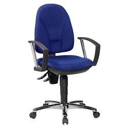 Topstar New Ergo Steel III Bürostuhl blau