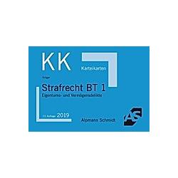 Alpmann-Cards  Karteikarten (KK): 3 Strafrecht BT 1  Karteikarten. Rolf Krüger  - Buch
