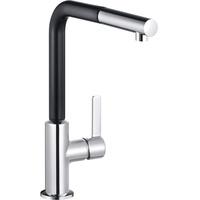 KLUDI Spültisch-Einhandmischer DN 15, Ausführung: chrom/schwarzmatt 408518775