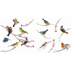 Komar Windowsticker Birds 31 x 31 cm
