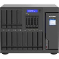 QNAP TVS-h1688X-W1250-32G (Seagate Ironwolf) 16-Bay TurboNAS (12 x 3.5 HDD + 4 x 2.5 SSD); SATA 6G; Intel Xeon W-1250 6 cores 12 threads 3.3 GHz (boost up to 4.7 GHz); 32GB DDR4 ECC RAM (max. 128GB); 4 x 2.5GbE; 2 x 10GBASE-T 10GbE; 2 x M.
