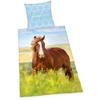 Herding Young Collection Pferd Freedom 135 x 200 cm + 80 x 80 cm