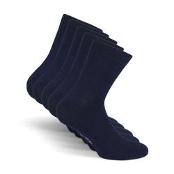 SNOCKS Businesssocken Leichte Kurze Sommer Socken (5-Paar) kurz, ohne störende Naht blau