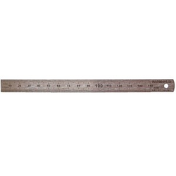 RUMOLD Lineal   15,0 cm, silber