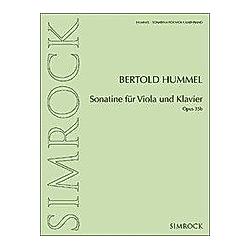 Sonatine für Viola und Klavier - Buch
