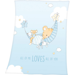 Babydecke Little Tiger, Baby Best, mit niedlichem Tiger-Motiv