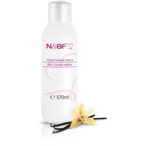 N&BF Nagel Cleaner mit Duft 570ml – für Gelnägel – Nagelreiniger – Nail-Cleaner – 70% Isopropanol-Alkohol kosmetisch rein in Studioqualität zum Entfetten und Reinigen (Vanille)