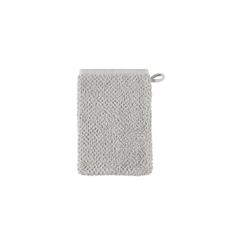 Cawö Waschhandschuh s.Oliver uni in silber, 16 x 22 cm