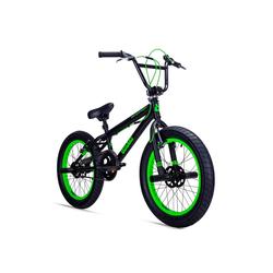 bergsteiger BMX-Rad Tokyo, 1 Gang grün