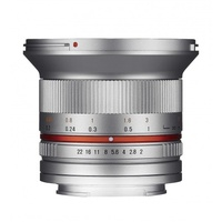 12 mm F2,0 NCS CS Canon M silber