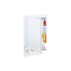 relaxdays Badezimmerspiegelschrank Badspiegelschrank mit Steckdose