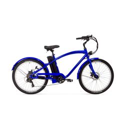 E Bike Cruiser Varaneo Beach Cruiser Blau