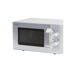Sharp Mikrowelle R204S, 6 Leistungsstufen 800 Watt Leistung