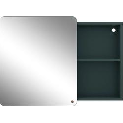 TOM TAILOR Spiegelschrank COLOR BATH mit Spiegel-Schiebetür, Breite 80 cm grün