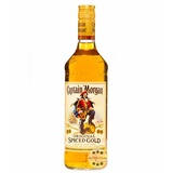 Captain Morgan Original Spiced Gold / 35 % Vol. / 0,7 Liter-Flasche
