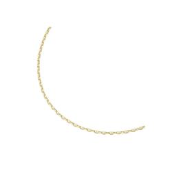 Luigi Merano Goldkette Stegankerkette, hohl, Gold 585