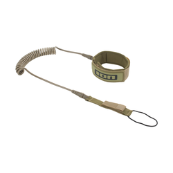 ION SUP Core Leash coiled Kneestrap olive 2020 SUP-Leash Leine, Leash Längen: 10'