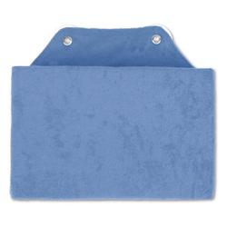 Bestlivings Reisekissen, Badewannenkissen, Nackenkissen in 16x25cm, Kissen für die Badewanne blau