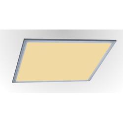 TRANGO LED Panel, 3000PL LED Deckenpanel 40 Watt 3000K warmweiß *LEO* 62x62cm 3200 Lumen - Büroleuchte, Deckenlampe, Deckenleuchte, Rasterleuchte, Einbau-Deckenleuchte, Odenwalddecke, Einlegeleuchte, Büro-Deckenpanel 62 cm x 62 cm x 1 cm