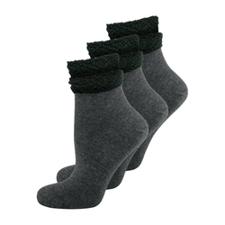 Elbeo Freizeitsocken 3-Pack Glam Dream grau 35-38