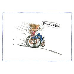 AnyBody Postkartenset Bahn frei!