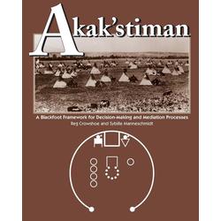 Akak'stiman als Taschenbuch von Reg Crowshoe