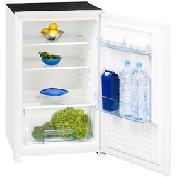 Einbau-Kühlschrank Abtau-Automatik Schlepptür in 88 cm 124L LED-Licht weiß