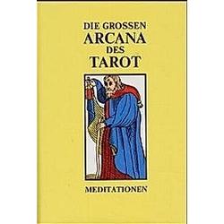 Die Großen Arcana des Tarot, Ausg. B, 2 Bde.