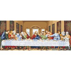 """Luca-S Kreuzstich Set """"Das letzte Abendmahl"""", Zählmuster, 130x56cm"""