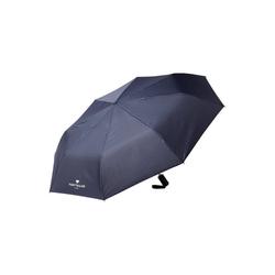 TOM TAILOR Taschenregenschirm Automatik - Regenschirm blau