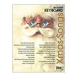 Modern Keyboard  Xmas-Songs. Günter Loy  - Buch